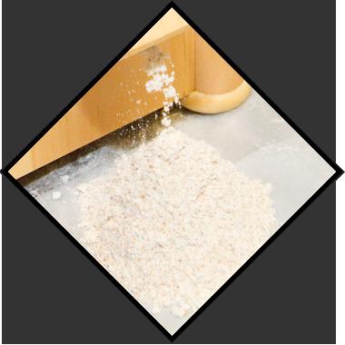 一見普通の小麦のように思うかも知れません。 ですが、京都では小麦の生産が難しく、安定して収穫できるのは今までパンには使用されることが少なかった「薄力粉」に使用できる小麦だけなのです。この京都産小麦は、非常に扱いが難しく、技術のないパン屋では、まともにパンを作ることもできません。その為、薄力粉でパンを作るパン屋は皆無なのです。 また、現在は小麦だけでなく、パネトーネでは宇治の抹茶、食パンでは京都産の牛乳も使用しています。 目標は「全てを京都産で」。より美味しくなるオペラの京ブランドにご期待ください。