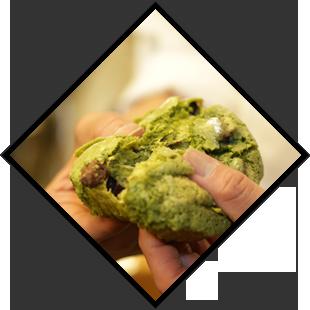 日本人の口に合わせ、食べやすいように作っています。京都産の小麦を使用したしっかりとした味わいです。